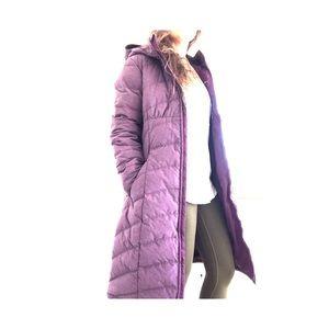 Prana Irina long down jacket coat
